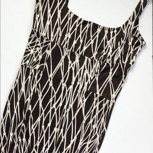 DVF 100% silk Bridget dress